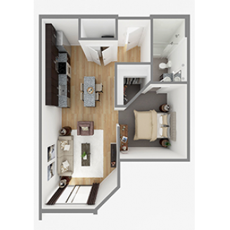 Lot 635 Floor plan layout