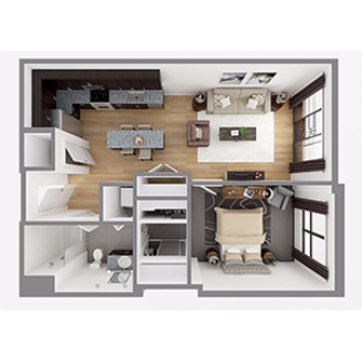 Lot 740 Floor plan layout