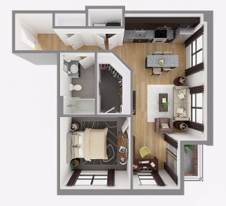 Lot 748 Floor plan layout