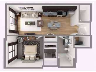 Lot 708 Floor plan layout