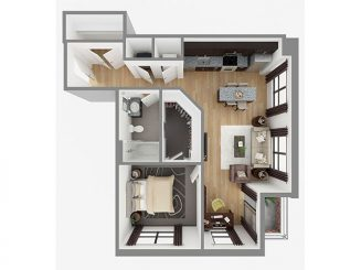 Lot 792 Floor plan layout