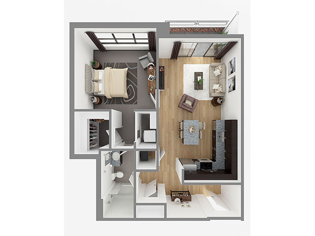 Lot 831 Floor plan layout