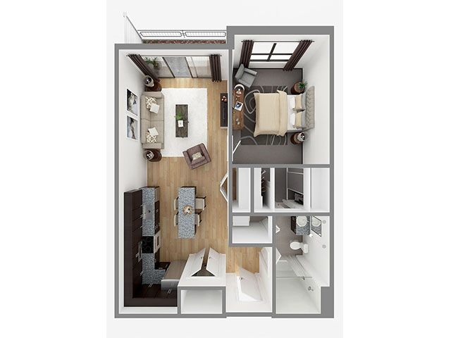 Lot 750 Floor plan layout