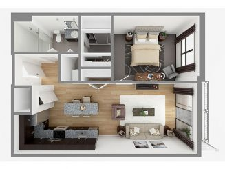 Lot 754 Floor plan layout