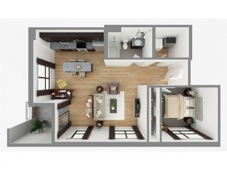Lot 802 Floor plan layout