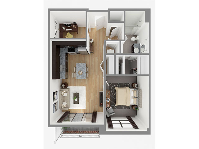 Lot 809 Floor plan layout