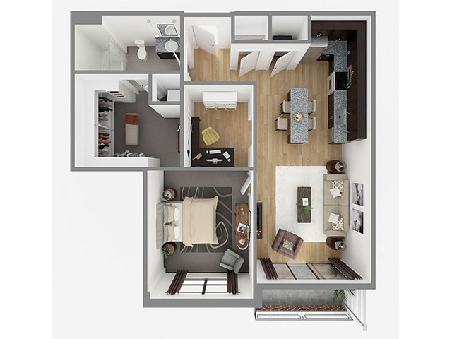 Lot 914 Floor plan layout
