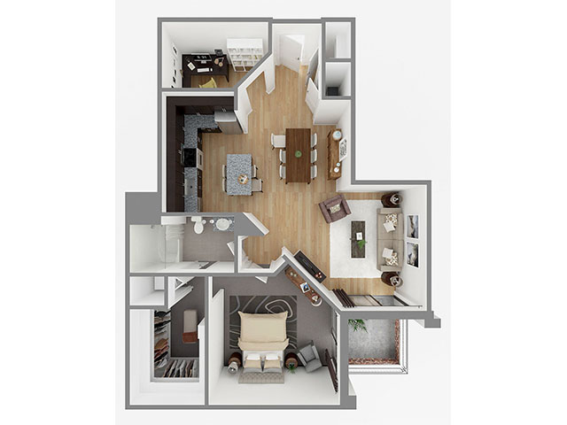 Lot 1007 Floor plan layout