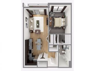 Lot 747 Floor plan layout