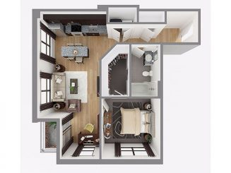 Lot 753 Floor plan layout