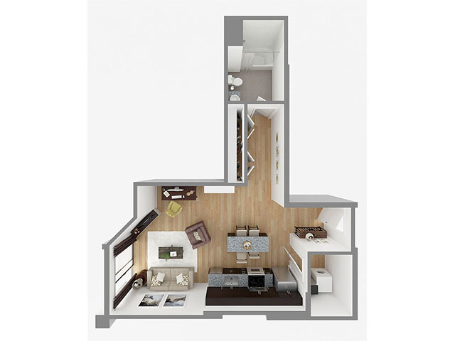 Lot 634 Floor plan layout