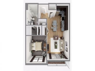 Lot 717 Floor plan layout