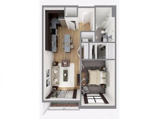 Lot 716 Floor plan layout