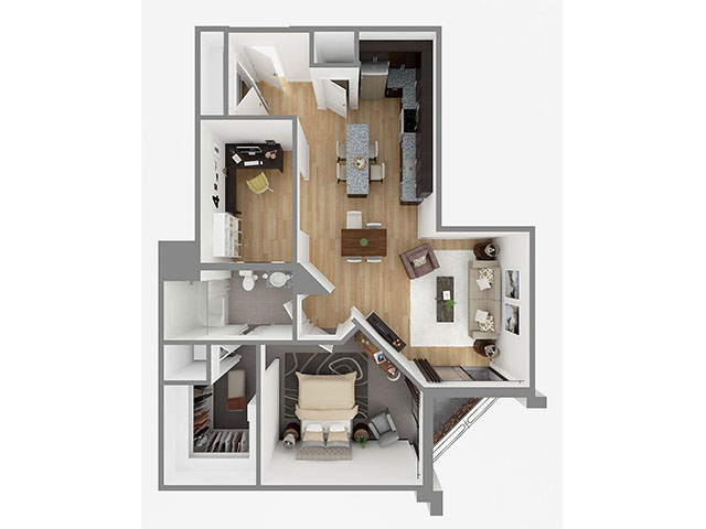 Lot 972 Floor plan layout
