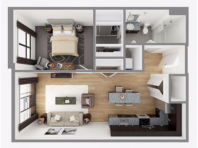 Lot 769 Floor plan layout